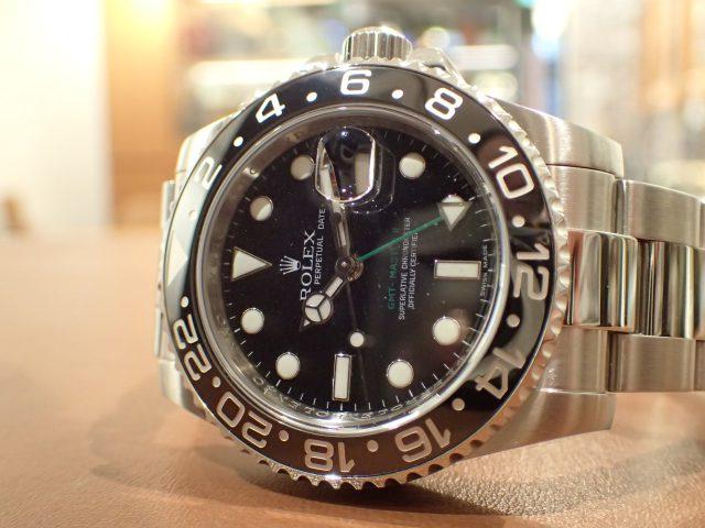 黒の美学 GMTマスターII Ref.116710LN