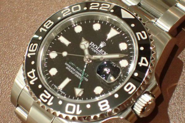 ルミノバ夜光のダイヤル GMT-MASTER II REF.116710LN