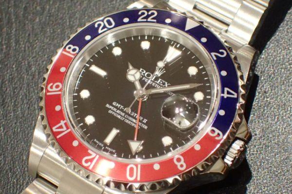 旧型GMTマスターII REF.16710 赤青ベゼル