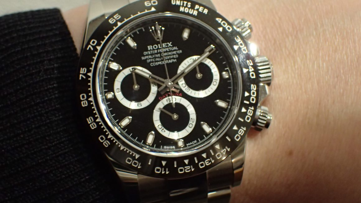 現行モデル デイトナ Ref.116500LN ブラック