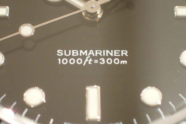シンプルフェイスの極み サブマリーナー 14060M