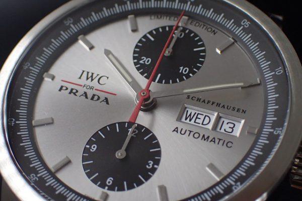 IWC GSTクロノグラフ プラダ世界限定2000本 Ref.IW370802