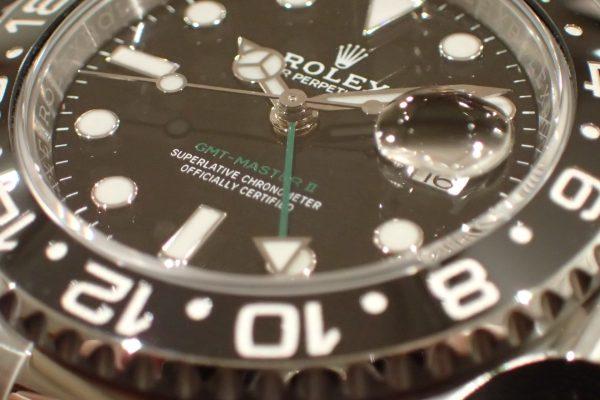 モノトーンベゼル GMT-MASTER II Ref.116710LN