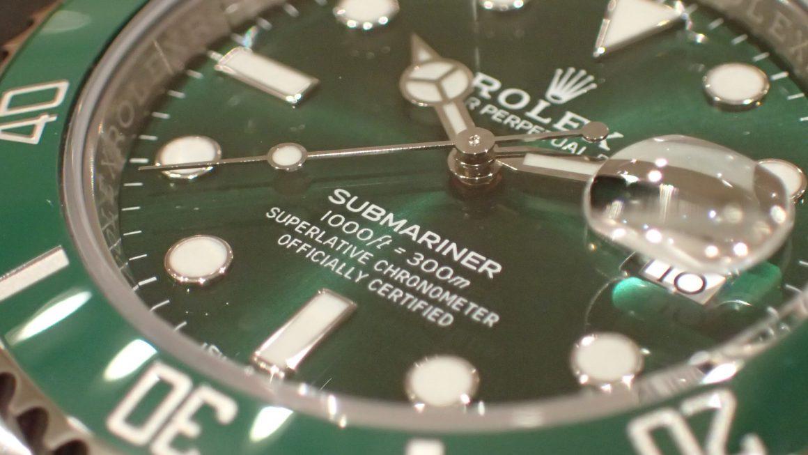 高年式 グリーンサブ Ref.116610LV