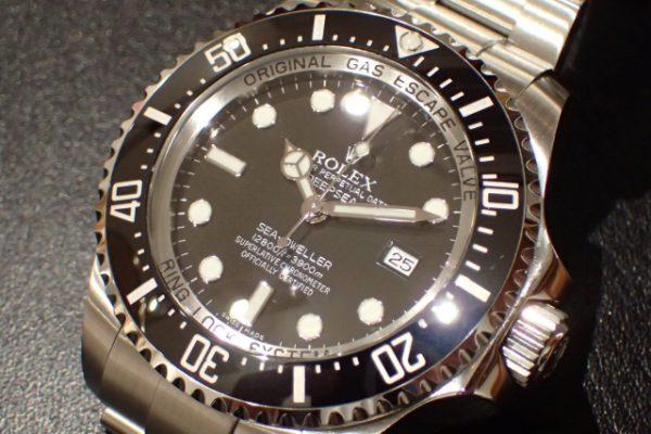 潜水士の時計 DEEP-SEA REF.116660 ブラック