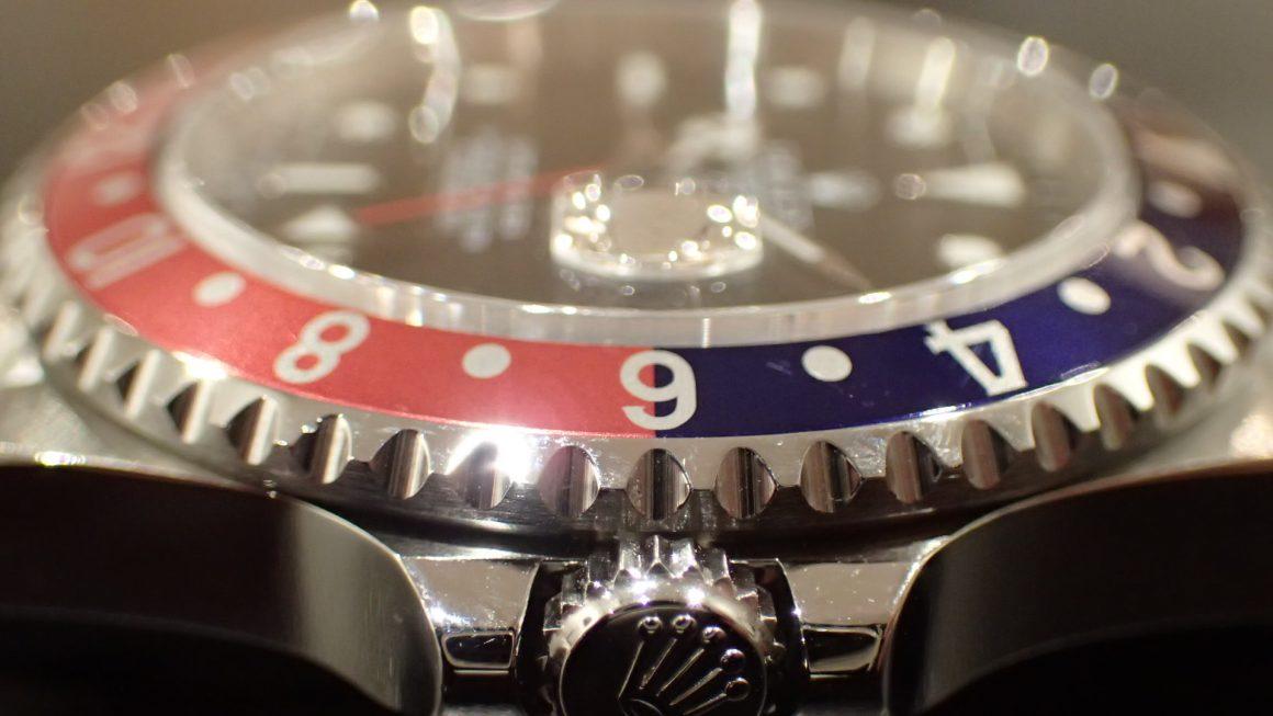 サマーカラー ペプシ GMT-MASTER I Ref.16700 赤青