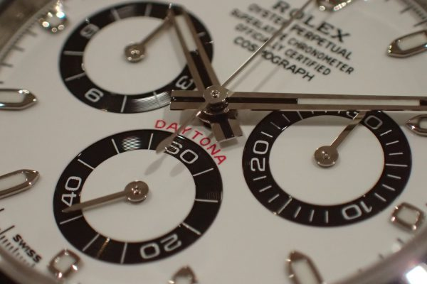 高年式 フラッグシップモデル DAYTONA Ref.116500LN ホワイト