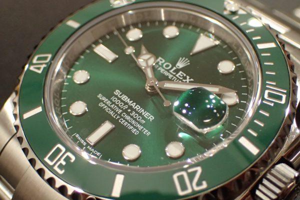 ロレックスカラー SUBMARINER Ref.116610LV グリーン