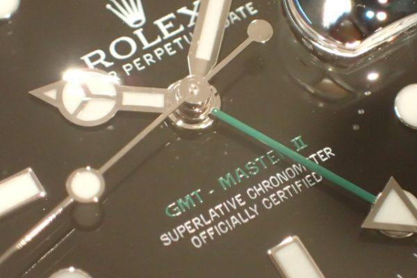 生産終了モデル 黒ベゼルのGMT-MASTER II REF.116710LN