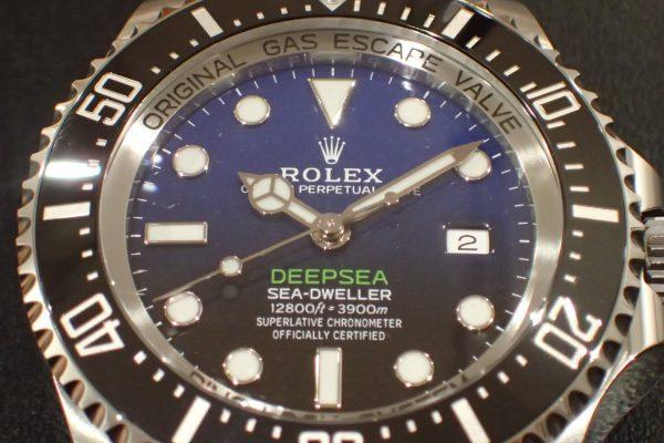 深海の王者 DEEPSEA Ref.126660 Dブルー