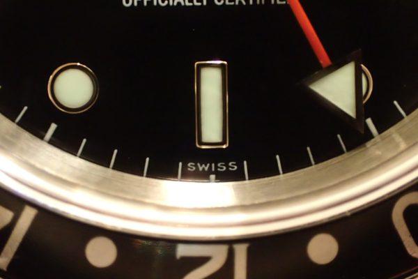 SWISS表記 GMT-MASTER II Ref.16710
