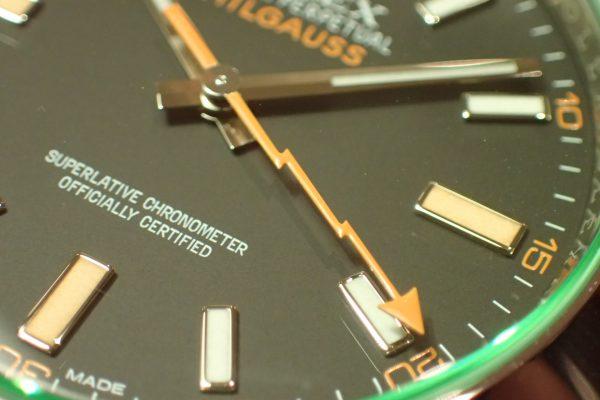 イナズマ針 MILGAUSS Ref.116400GV