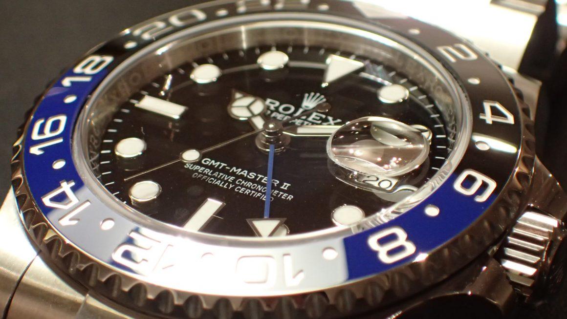 人気のオイスターブレス GMT-MASTER II Ref.116710BLNR