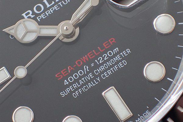 存在感抜群のプロフェッショナルツール! Ref.126600 SEA-DWELLER