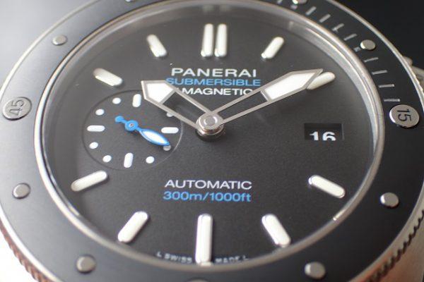 パネライ  サブマーシブル 1950 3days アマグネティック チタニオ PAM01389