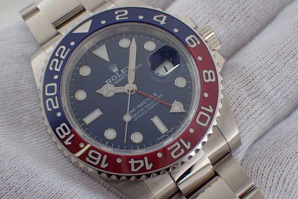 18Kホワイトゴールド GMTマスターII Ref.116719BLRO